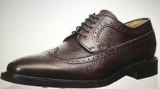 NIB MEN BROWN SEBAGO B23652 MEN SEABIRD WINGTIP OXFORD SHOES SIZE 11