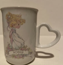 Precious Moments Enesco Vintage Collectible Mug Cup Honey 1990 When You Met Me