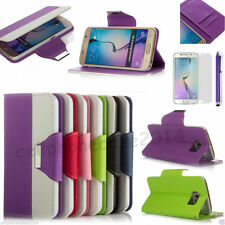 Unbranded/Generic Leather Mobile Phone Cases, Covers & Skins for Samsung with Kickstand