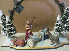 "Midwest Of Cannon Falls Nativity ""Enchanted Winter'S Eve"" Pam Schifferl"