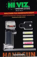HIVIZ Sight Systems Interchangeable Front Sight for Walther P22 WAL2012