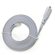 11.8FT Cisco Console Extension Cable USB FTDI Type-C to Rj45 RS232 8/7 Vista MAC