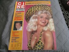 CINE TELE REVUE N°45  1980 Errol FLYNN Mireille MATHIEU