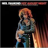 Neil Diamond - Hot August Night (Live Recording) (2xCD) . FREE UK P+P ..........