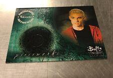 Buffy The Vampire Slayer Season 6 Costume Card PW5 Spike
