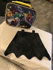 The Lego Batman Lunchbox with Removable Cape