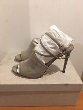 JIMMY CHOO Suede Flora Heels Sandals Shoes UK  4.5/EU 37.5 RRP £595