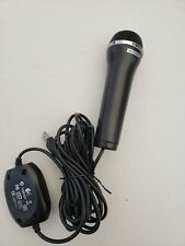 KONAMI LOGITECH MICROPHONE USB BLACK Guitar Hero, Rock Band