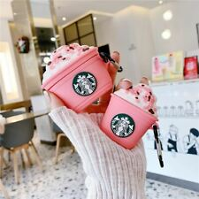 More details for starbucks pink frappuccino earbuds & case