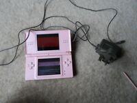 PINK NINTENDO DS LITE CONSOLE -Tested Working - READ DESCRIPTION