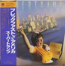 Supertramp - Breakfast In America JAPAN LP with OBI and LYRIC SHEET