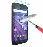 100% Genuine Tempered Glass Screen Protector For Motorola Moto G3 Moto G 3rd gen