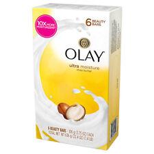 (106g x 6P) Olay Outlast Ultra Moisture Shea Butter Beauty Bar Soap (+Tracking)