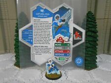 Heroscape Custom Captain Cold Double Sided Card & Figure w/ Sleeve DC