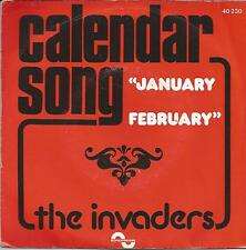 "THE INVADERS Calendar song FRENCH 7"" FUNK STEEL BAND"