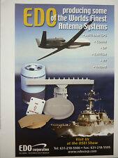 8/2005 PUB EDO CORPORATION ANTENNA ANTENNES IFF RADAR ANTI-JAM GPS DF EW/ESM AD