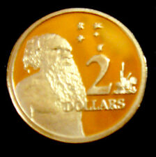 Australia: 1998 or 2013 $2 Aborigine & Southern Cross! PROOF EX SET