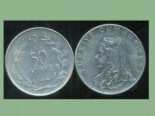 TURQUIE  50 kurus 1974  ( bis )