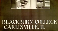 """1978 BLACKBURN COLLEGE YEARBOOK """"Beaver Tales"""" ~Carlinville IL ~excellent! clean"""