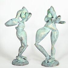 "Kunst Skulptur ""Aphrodite"" 24cm Unikat Andreas Loeschner-Gornau"