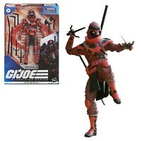 "GI Joe Classified Series Red Ninja 08 6"" Action Figure Wave 2 NIB - In Stock"