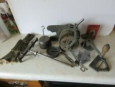 ANTIQUE THE STEBER FAMILY KNITTING MACHINE - LOOKS COMPLETE WITH MANUAL & BOX