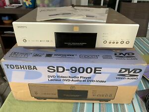 Toshiba SD-900E All region DVD, DVD audio player, Flagship Toshiba