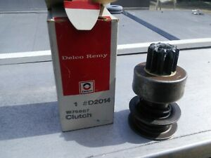 DELCO Starter Drive D2014 1875687 New OEM