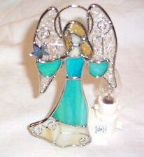 Stained Glass Angel Night Light New [9009-42]