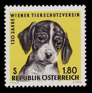 AUSTRIA    SCOTT# 763   MNH    DOG TOPICAL