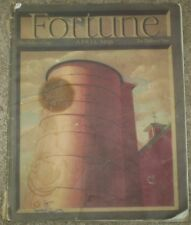 APRIL 1939 ISSUE OF FORTUNE MAGAZINE, GREAT ADS, ILLUSTRATIONS