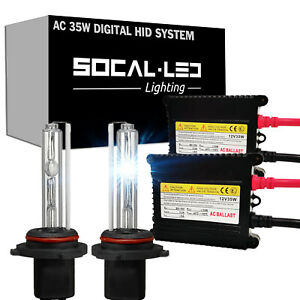 SOCAL-LED AC 35W H11 HID XENON Kit Digital Slim Ballast for Ford Fusion Focus