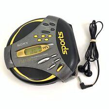 Sony Sports Walkman D-FS18 CD Player FM/AM Radio G-Protection Works READ #6419