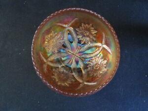 Marigold  Dugan  FOUR FLOWERS ROSE BOWL  -  A Nice EXAMPLE