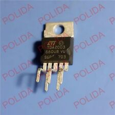 10PCS AUDIO AMPLIFIER IC ST TO-220-5 TDA2003 TDA2003V E-TDA2003V