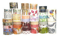 Mixed Themes Collection washi tape Adhesive Decorative Tape Back to School