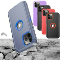 For iPhone 11 Pro Max,12 Pro,12 Pro Max Shockproof Heavy Duty Armor Case Cover