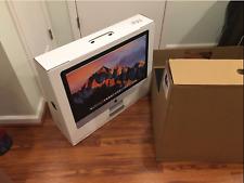 """Apple iMac 27"""" Retina 5k 2017 4.2ghz i7 3.12 FUSION 64gb Radeon Pro 580 8gb"""