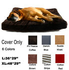 DIY Pet Dog Bed Large Dog Cover Dog Cushion Cover Mat Zipper Design Cover Only