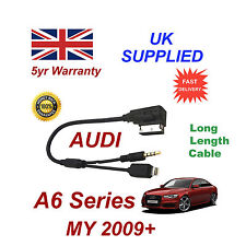 For AUDI A6 Audio cable Samsung Galaxy S4 S5 S6 S7 Micro USB AUX 3.5mm Cable lg