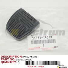 TOYOTA LEXUS FACTORY OEM 31321-14020 MANUAL TRANS BRAKE CLUTCH PEDAL RUBBER PAD
