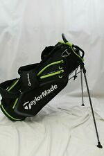 New TM19 Taylormade Select Stand Carry Golf Bag Dual Straps Black / Green