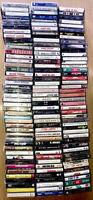Huge 140 Lot Cassette Tapes 70s-90s Madonna Elton John Croce Springsteen MJ Def+