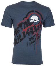 METAL MULISHA Men T-Shirt DRAIN Motocross Racing NAVY Biker UFC Fox No Fear $30