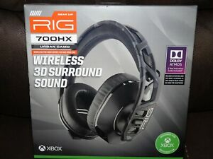 Nacon 700HX RIG Wireless Gaming Headset for XBox One Series 3D Dolby Atmos -New