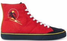 Polo Ralph Lauren Men's Solomon Downhill Ski-Patch Canvas Sneakers, RED Size 9