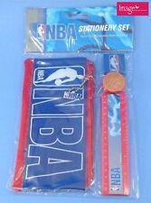 NBA Basketball Stationery Set Pencil Case Sharpener Ruler Eraser 04721