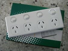 5 x 10 Amp Quad Power Point 4 Gang Socket Outlet 10A SAA GPO