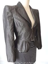 CUE Women's Jacket Long Sleeve Zip Front Size 10  US 6 Made in Australia