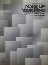Randy Newman: prendere una decisione (PIANO/VOCAL/Guitar SPARTITI MUSICALI) ottime condizioni!